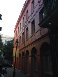 Basile Croquere's 19th c. fencing salle on Exchange Alley